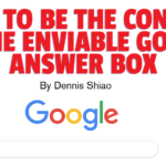 Digital Marketing Strategy: How to Be the Content in the Enviable Google Answer Box